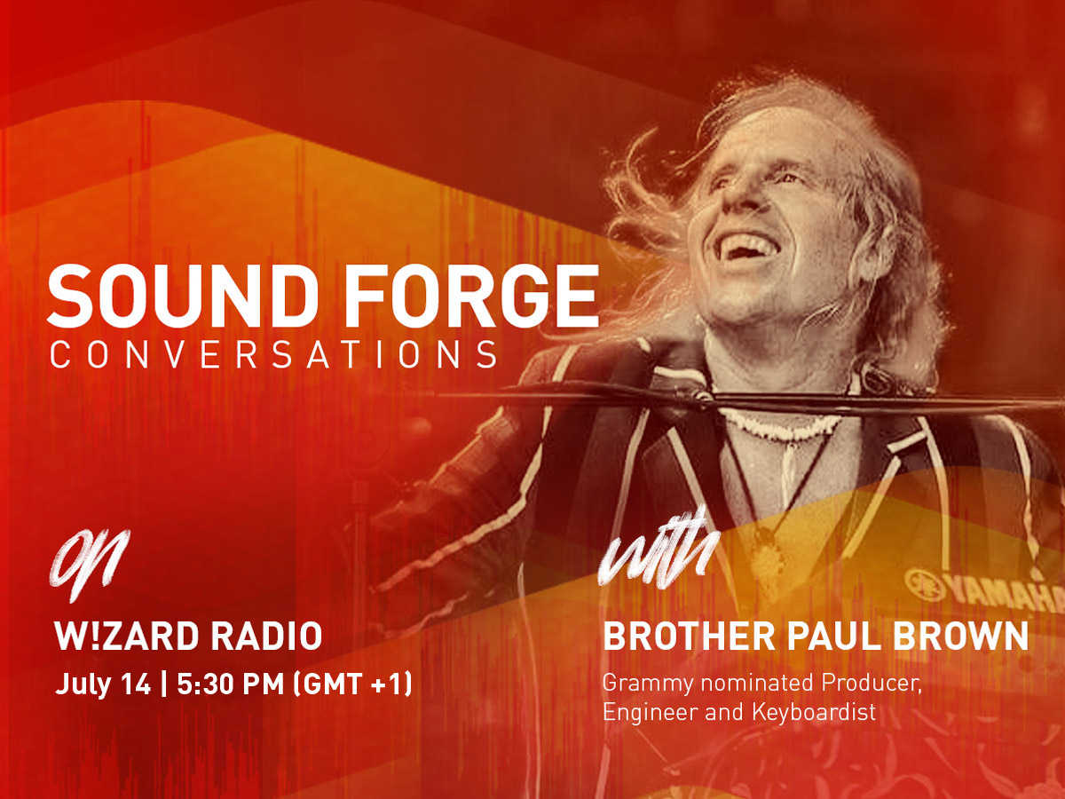 SOUND FORGE Conversations | Brother Paul Brown